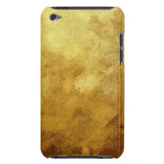 art abstract painted background in golden color barely there iPod case