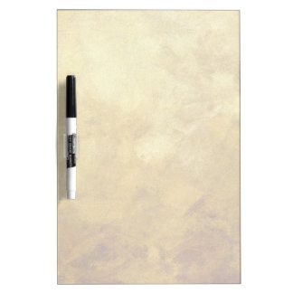 art abstract painted background in golden color dry erase white board
