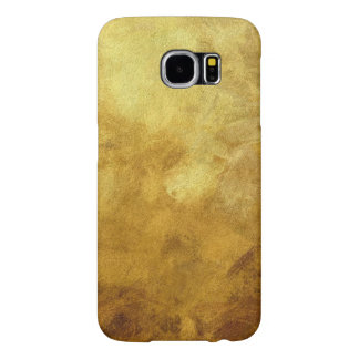 art abstract painted background in golden color samsung galaxy s6 cases