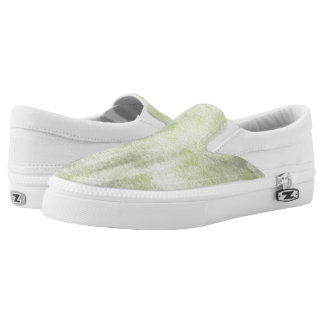 art abstract watercolor background on paper 10 Slip-On shoes