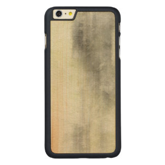 art abstract watercolor background on paper 2 2 carved maple iPhone 6 plus case