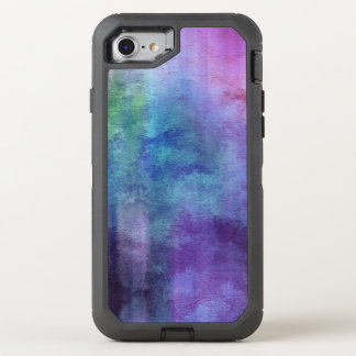 art abstract watercolor background on paper 2 2 OtterBox defender iPhone 8/7 case