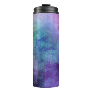 art abstract watercolor background on paper 2 2 thermal tumbler