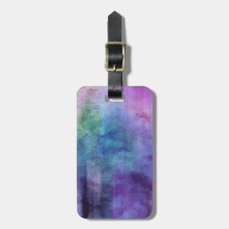 art abstract watercolor background on paper 2 bag tag