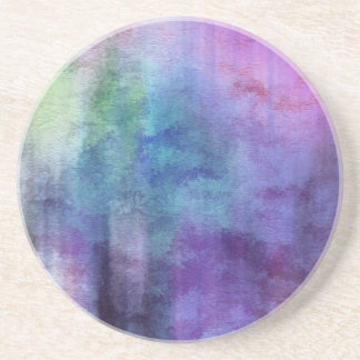 art abstract watercolor background on paper 2 beverage coasters