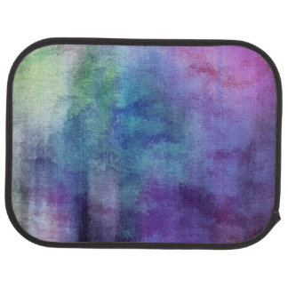 art abstract watercolor background on paper 2 car mat