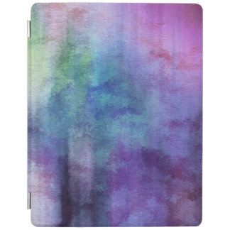 art abstract watercolor background on paper 2 iPad cover