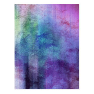 art abstract watercolor background on paper 2 postcard