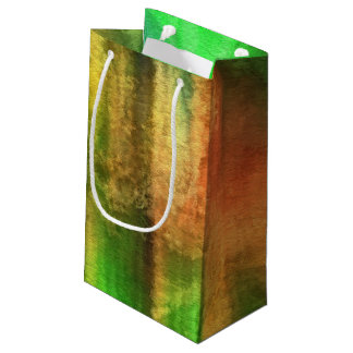 art abstract watercolor background on paper 2 small gift bag