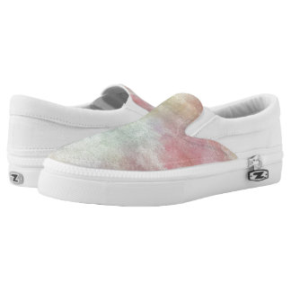 art abstract watercolor background on paper 3 2 slip on shoes
