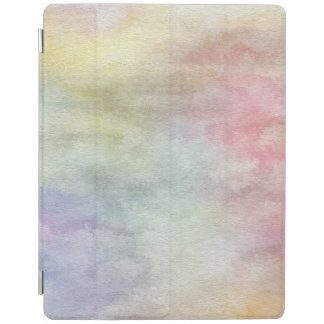 art abstract watercolor background on paper 3 3 iPad cover