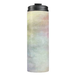 art abstract watercolor background on paper 3 3 thermal tumbler