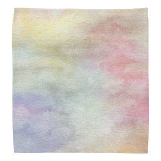 art abstract watercolor background on paper 3 bandana