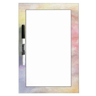 art abstract watercolor background on paper 3 Dry-Erase board