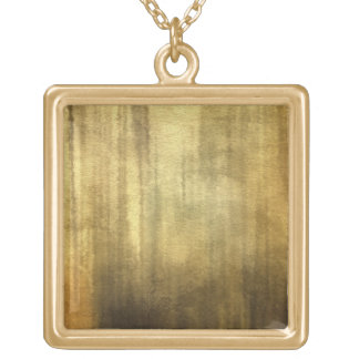 art abstract watercolor background on paper 3 gold plated necklace
