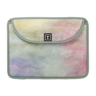 art abstract watercolor background on paper 3 sleeve for MacBooks