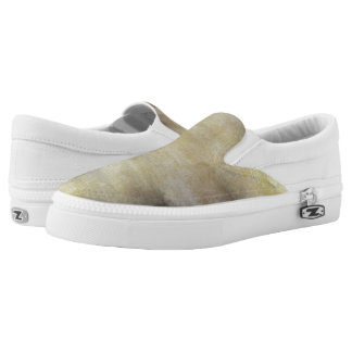 art abstract watercolor background on paper 3 Slip-On shoes