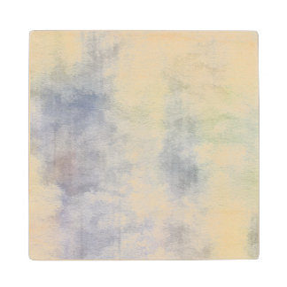 art abstract watercolor background on paper 4 2 maple wood coaster