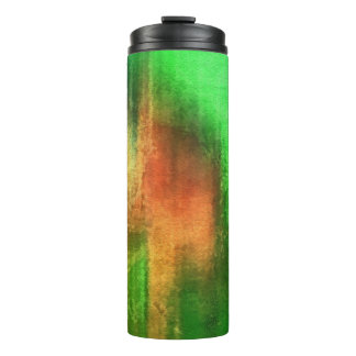 art abstract watercolor background on paper 4 thermal tumbler