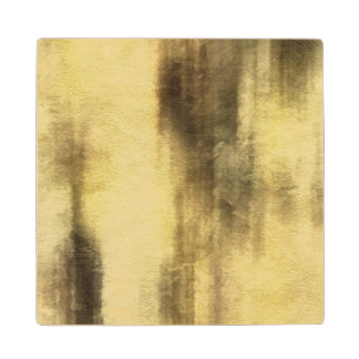 art abstract watercolor background on paper 4 wood coaster
