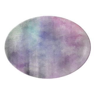 art abstract watercolor background on paper 5 2 porcelain serving platter