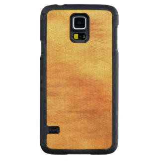 art abstract watercolor background on paper 5 carved maple galaxy s5 case