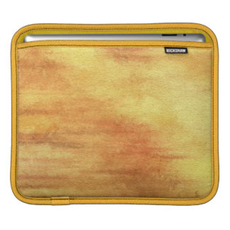 art abstract watercolor background on paper 5 iPad sleeve