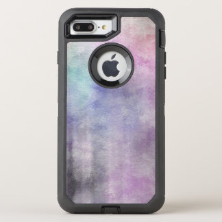 art abstract watercolor background on paper 5 OtterBox defender iPhone 8 plus/7 plus case