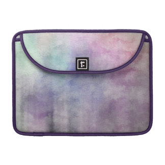 art abstract watercolor background on paper 5 sleeve for MacBooks