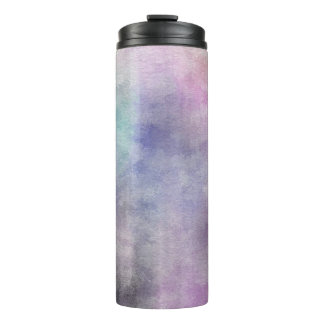 art abstract watercolor background on paper 5 thermal tumbler