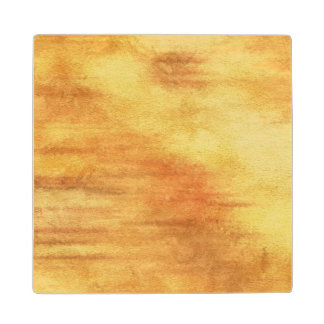 art abstract watercolor background on paper 5 wood coaster