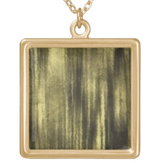 art abstract watercolor background on paper 6 gold plated necklace
