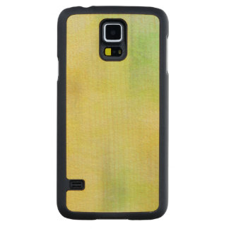 art abstract watercolor background on paper 8 carved maple galaxy s5 case