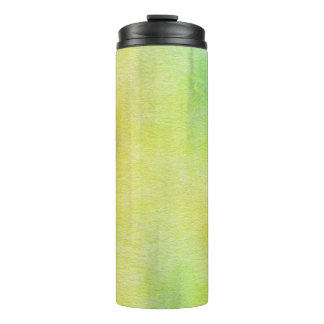 art abstract watercolor background on paper 8 thermal tumbler