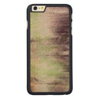 art abstract watercolor background on paper carved maple iPhone 6 plus case