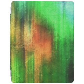 art abstract watercolor background on paper iPad cover