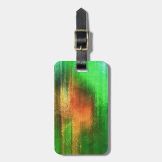art abstract watercolor background on paper luggage tag