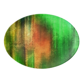 art abstract watercolor background on paper porcelain serving platter