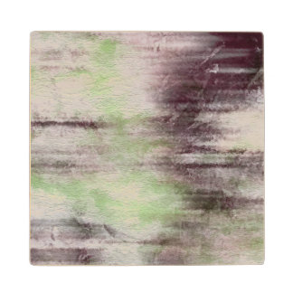 art abstract watercolor background on paper wood coaster