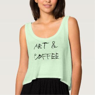 Art and Coffee Tank Top