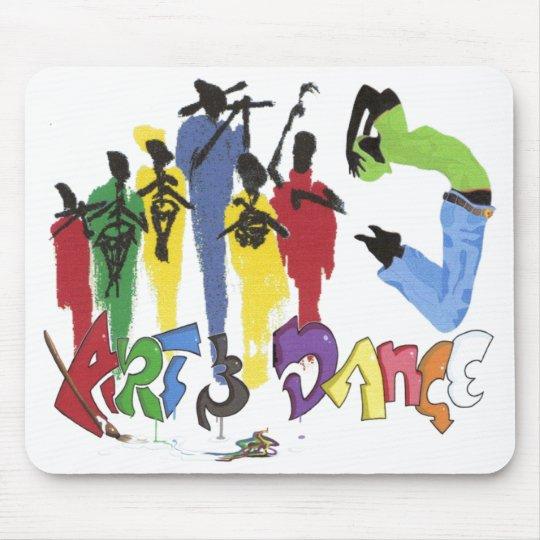 art and dance mouse mat
