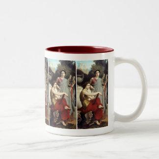 Art and Literature - William-Adolphe Bouguereau Two-Tone Mug