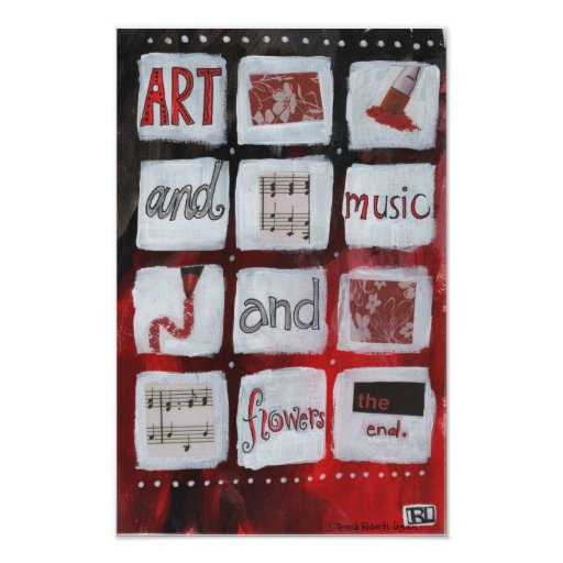Art and Music Poster