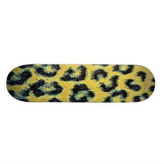 Art animal fur 14 skate deck