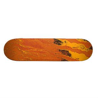 Art animal fur 6 custom skateboard