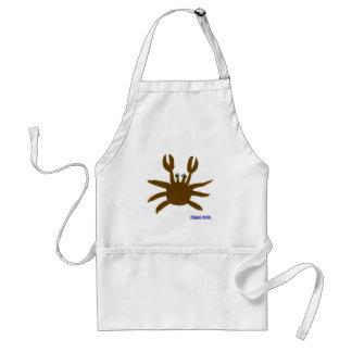 Art Apron: Crazy Beach Crab Standard Apron