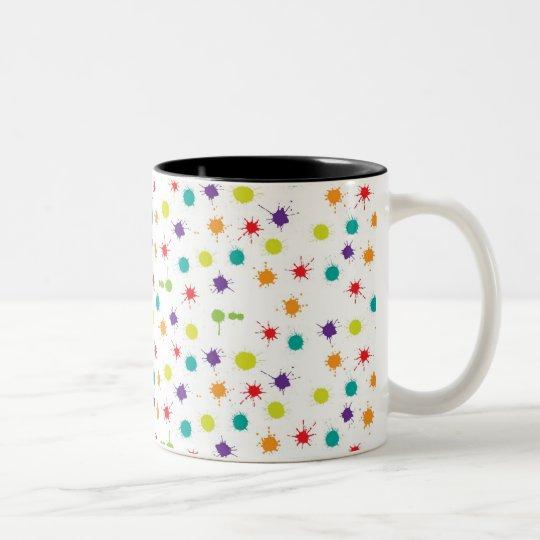 Art Attack Black 325 ml Two-Tone Mug
