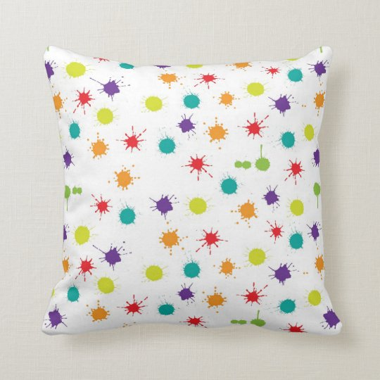 Art Attack Throw Cushion 41 x 41 cm