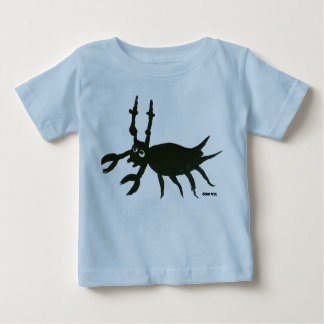 Art Baby: Scary Ugly Bug Baby T-Shirt