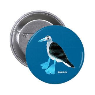 Art Badge Button: John Dyer Blue Footed Boobie